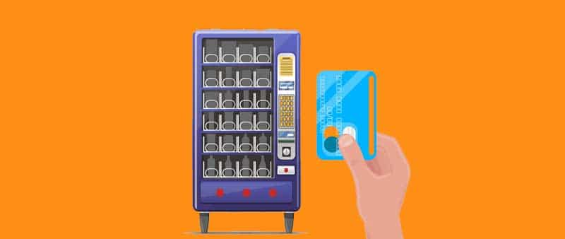 How to Use the Vending Machine with a Credit Card